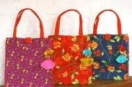 lungi totes by pure ghee designs at delhi,chennai,mumbai,gurgaon - 3mik.com