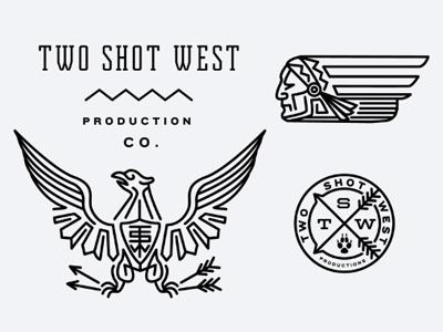 Designspiration — FFFFOUND! | Dribbble - TwoShotWest by Keith Davis Young