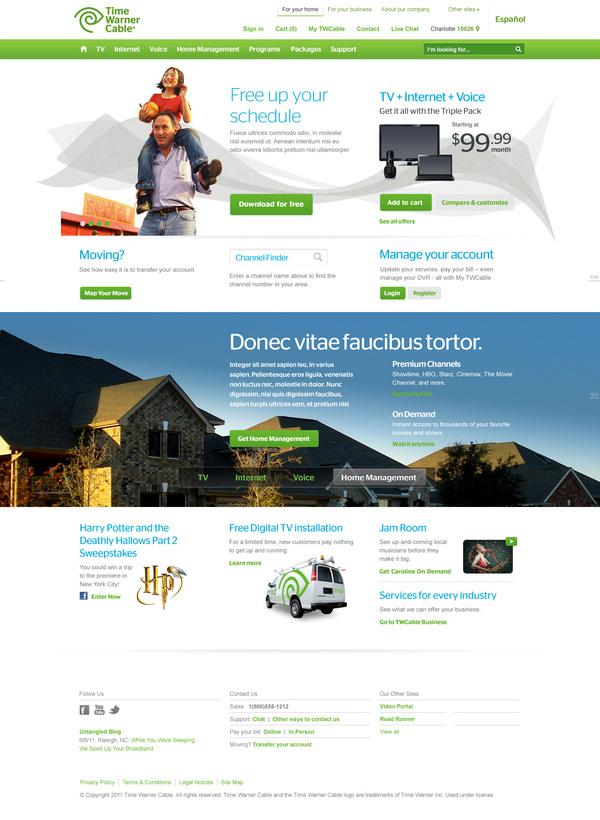One URL on Web Design Served
