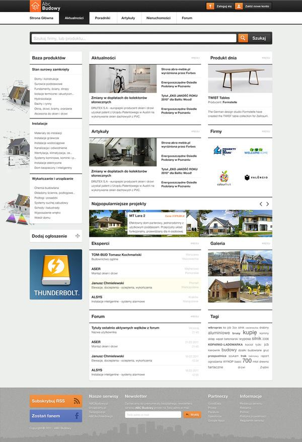ABC Budowy on Web Design Served