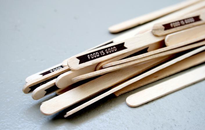 Food is Good « Stitch Design Co. / Bench.li