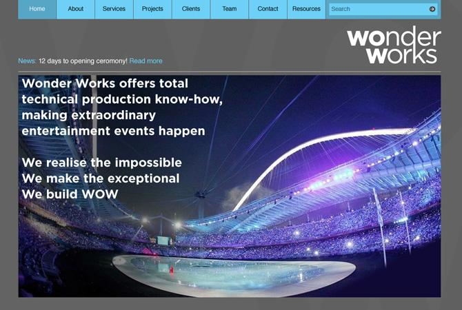 Wonder Works - Unlimited / Design and Art Direction
