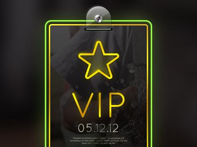 Selected VIP Pass by Jeff Broderick