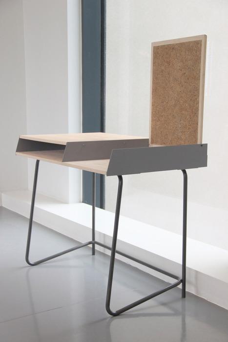 Desk 0112 by Marcin Bahrij