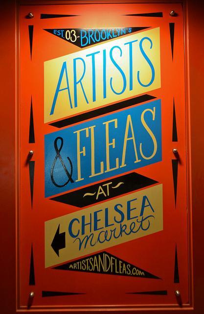 Artists & Fleas at Chelsea Market | Flickr - Photo Sharing!