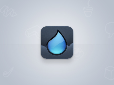drop icon by Fares Farhan