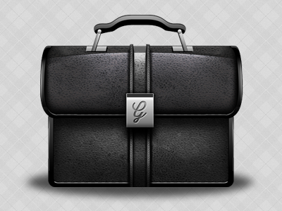 Briefcase Vector by George Gliddon