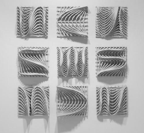 inaesthetic: Mandy Gunn Slippage (geology... - Design Inspiration Blog