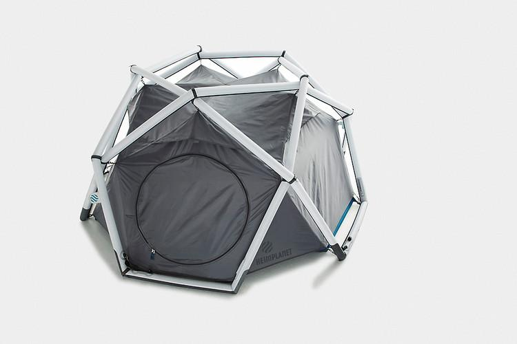 2 | Inflatable Geodesic Tent Makes Tent Poles Obsolete | Co.Design: business innovation design