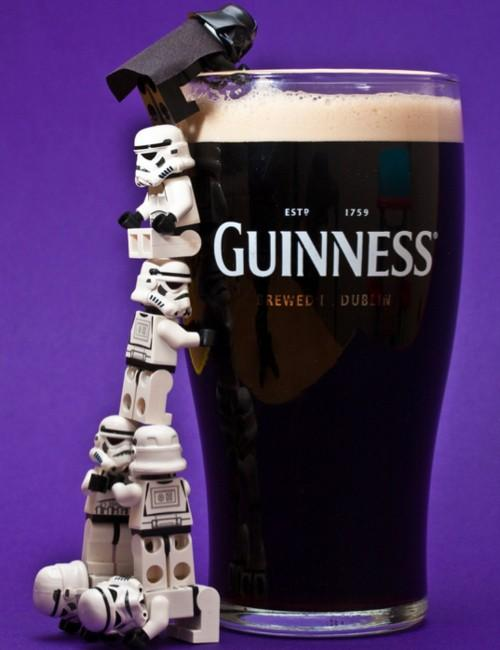 For the hubby / #guinness #starwars