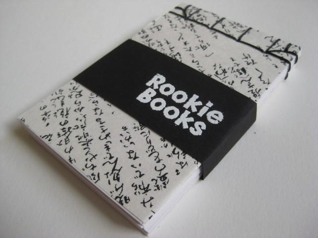 Japanese Stab Bound Notebook by RookieBooks on Etsy