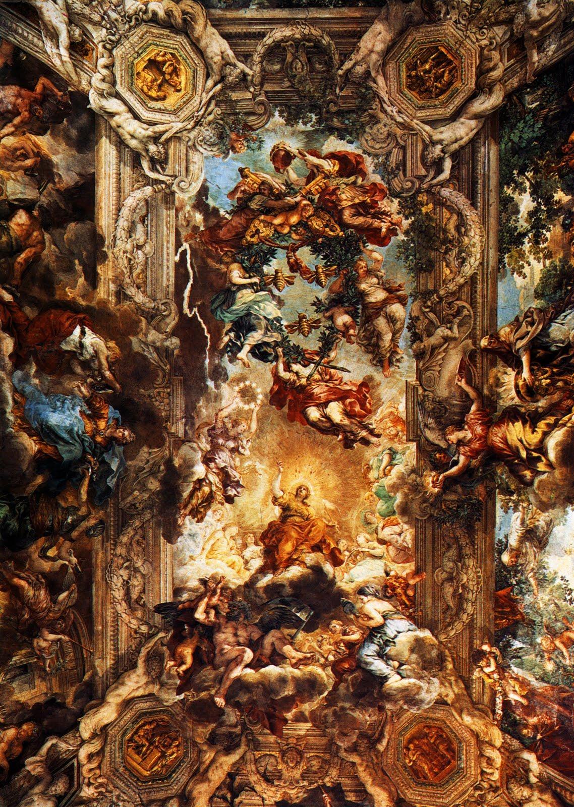 jpg_1639_Pierre_de_Cortone_Triomphe_de_la_Divine_Providence_Fresque_Rome_palazzo_Barberini.jpg (1138×1600)