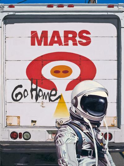 Mars Go Home Art Print by Scott Listfield | Society6
