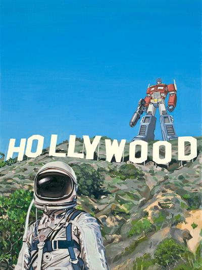 Hollywood Prime Art Print by Scott Listfield | Society6