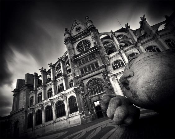 Damien Vassart Photography - Paris Black and White