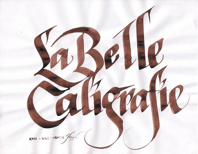 La Belle Caligrafie | Flickr - Photo Sharing!
