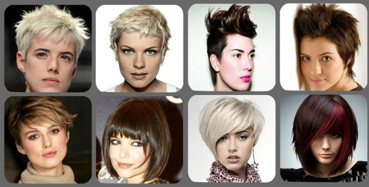 beauty's in short haircut style - StyleCraze