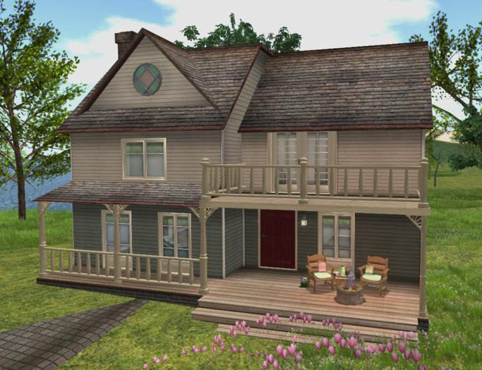 Second Life Marketplace - *{what next} Laurel Cottage - Unfurnished (boxed)
