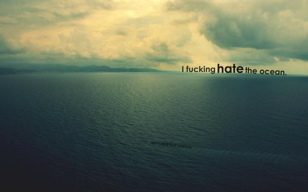 ocean,nature ocean nature quotes hate captioned pictures 2048x1280 wallpaper – Oceans Wallpaper – Free Desktop Wallpaper
