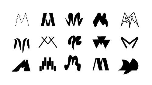 Designspiration — Marina Pronina Gallery Logos | Flickr - Photo Sharing!