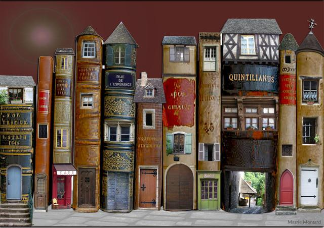 34.Village de livres
