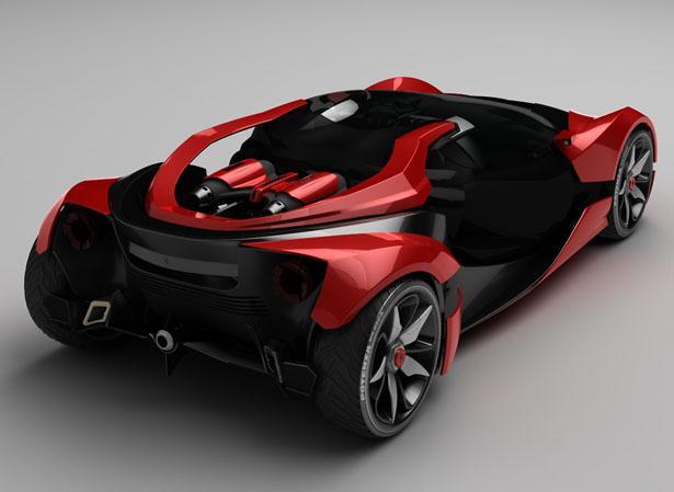 Ferrari F750 Concept Car with Future Technology in 2025 | Tuvie