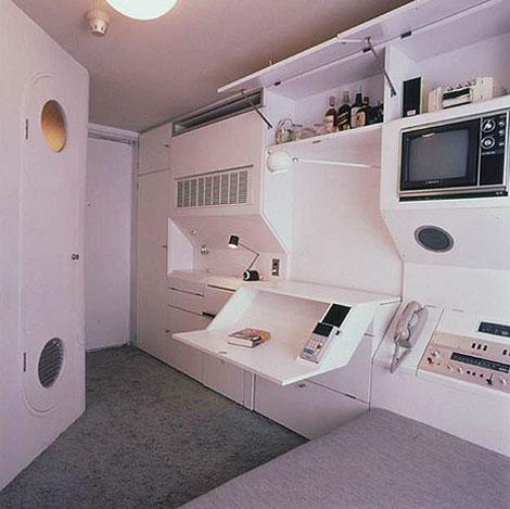 grain edit · Kurokawa Nakagin Capsule Hotel