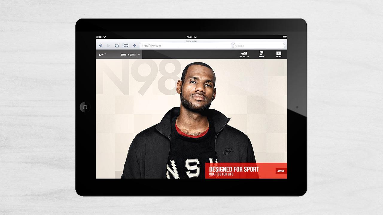Kult House: iPad Nike