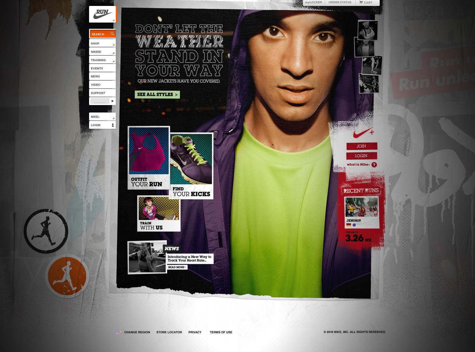 Nike Running | Nelson Alexander Ramirez