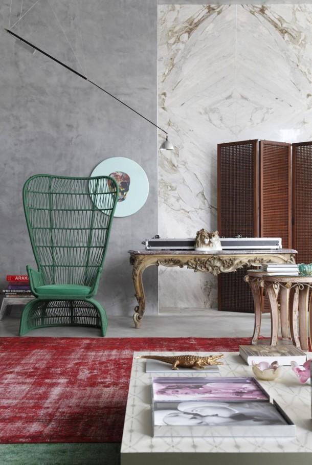 Mostra Black Flat Art Interior Design by Guilherme Torres