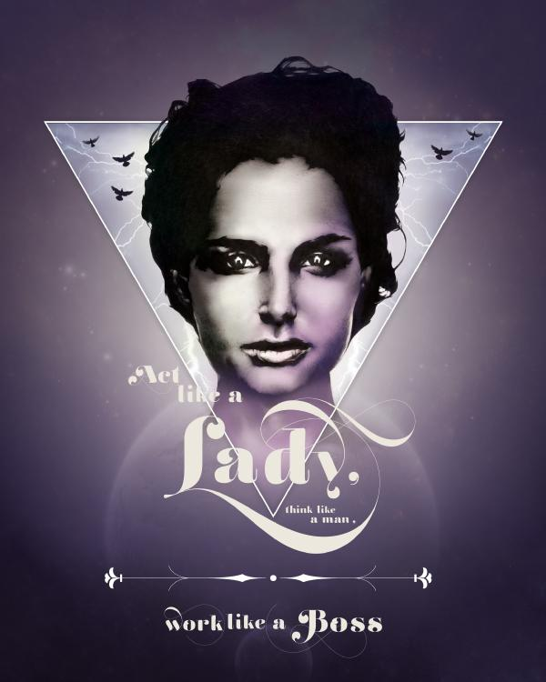 Act like a lady… « indeedcreative