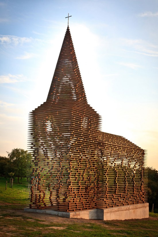 "Transparent Steel Church | Fubizâ""¢"