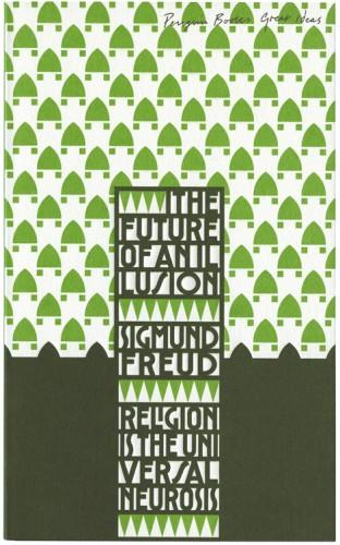 The Book Cover Archive: The Future of an Illusion, design by David Pearson