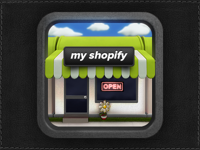 App Icon Design - MyShopify by Dash