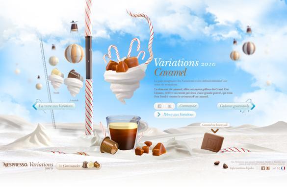 Le monde de Nespresso Variations 2010 – Glace à l'eau - Blog