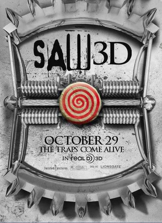 Saw 3D Movie New Poster - Online Movie Poster Gallery