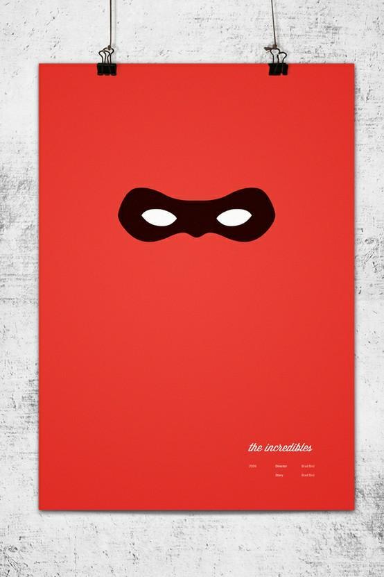 Posters / Minimalist Pixar Posters