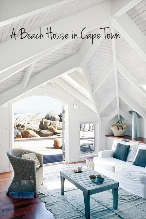a beach bungalow in cape town, south africa | the style files
