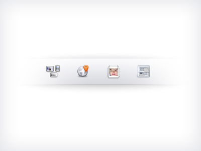 Obsolete top bar icons by Yummygum