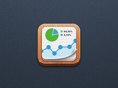 Statistics App icon by Northwood