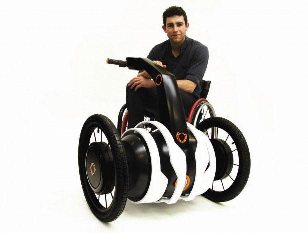 Independent Wheelchair Assist (IWA) : Motorized Add-on for Wheelchair by Oscar Fernandez | Tuvie