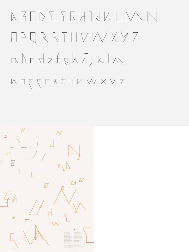 Les typographies de Mark Gowing | Ma Revue Web