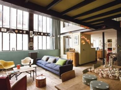 French By Design: A Menilmontant, Paris Loft