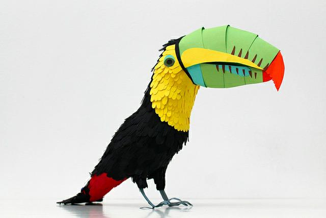 Paper Birds by Diana Beltran Herrera | inspirationfeed.com