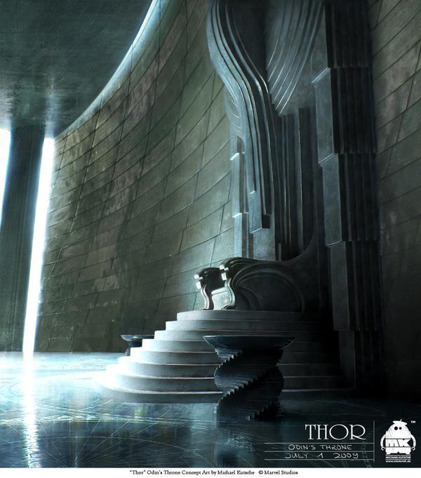 Thor - Character Design et Concept Art sur le réseau