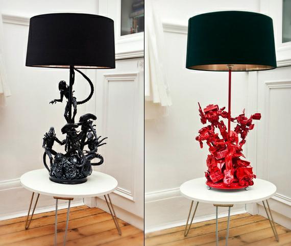 Evil Robot Bespoke Lamps | Cool Material