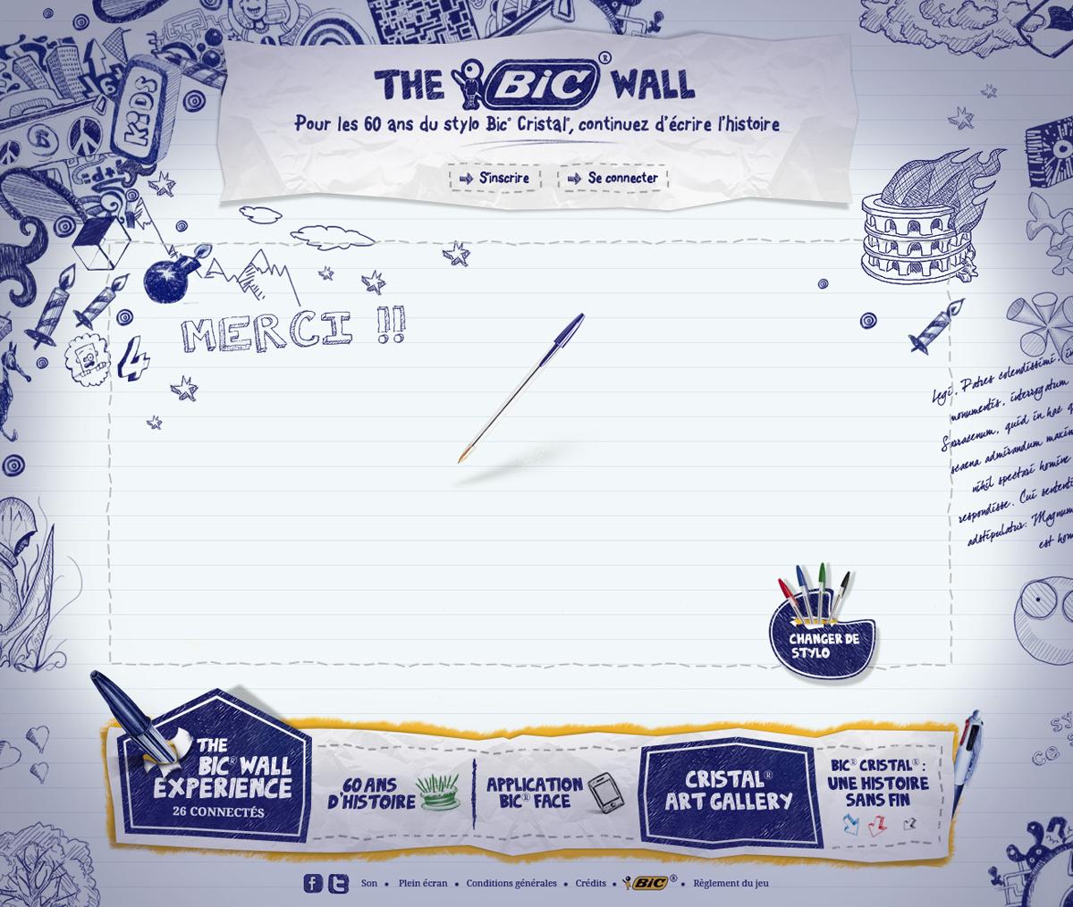Big Youth - Bic : 60 ans du stylo Bic Cristal