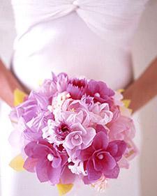 Crafted Bouquet - Martha Stewart Weddings Flowers