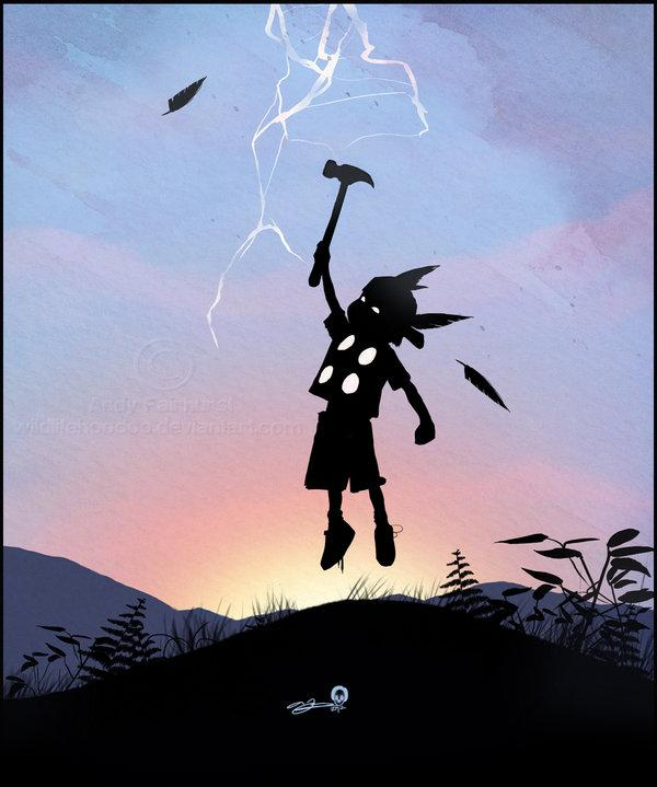 Thor Kid by *AndyFairhurst