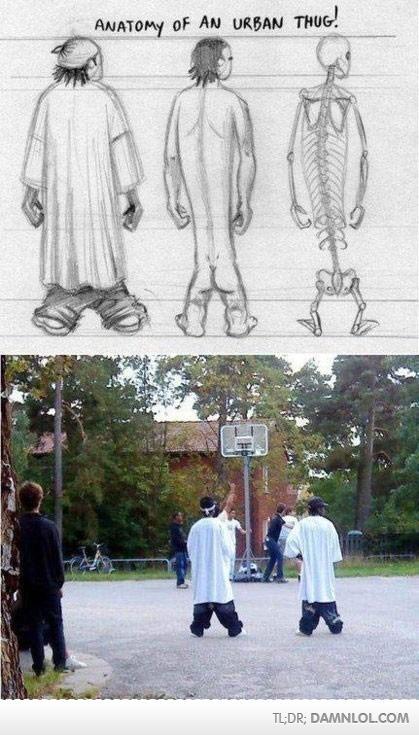Anatomie d'un Thug urbain! - Merde! LOL